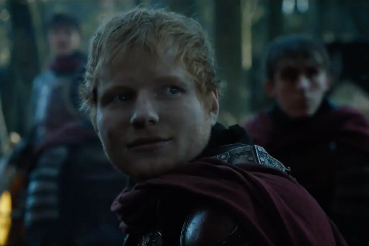 The Internet Had a Ball with Ed Sheeran's Surprise 'Game of Thrones' Cameo