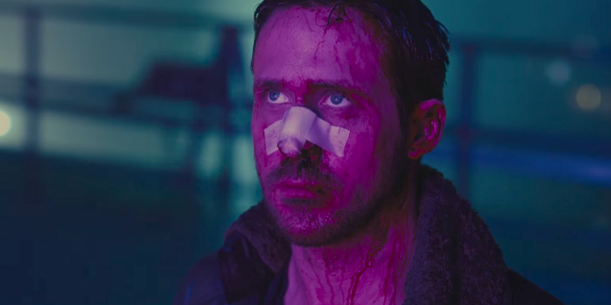 "Watch a Bloody Ryan Gosling Wreak Havoc in New ""Blade Runner 2049"" Trailer"
