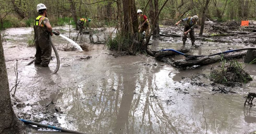 Spills, Fines and Route Disputes Plague Rover Pipeline
