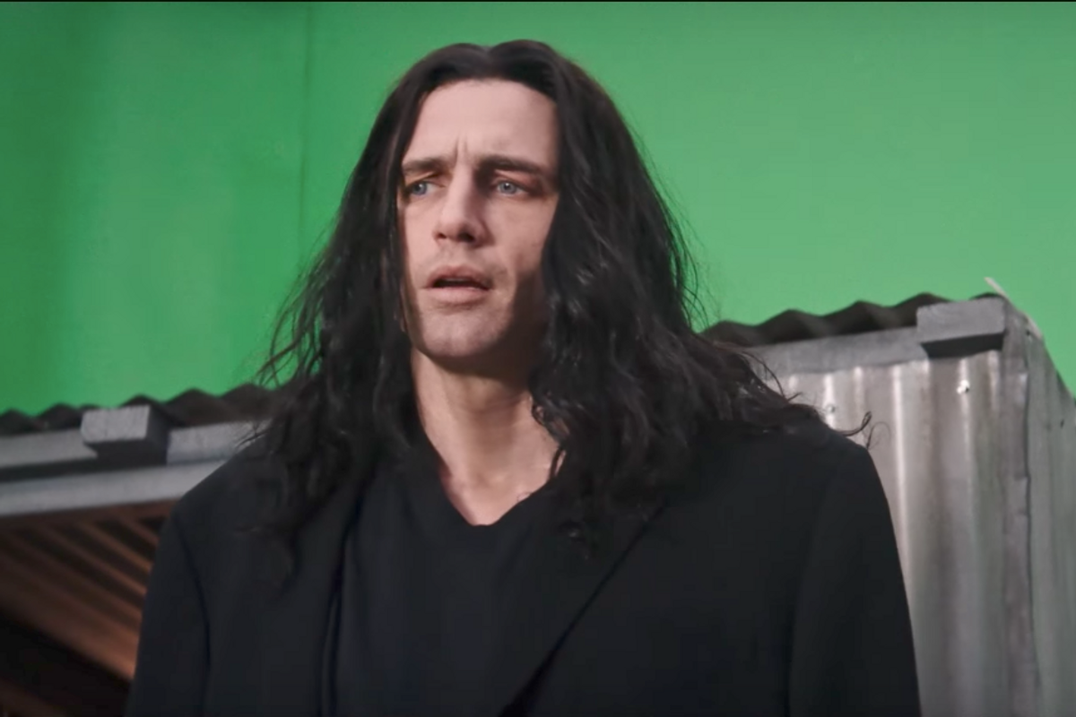 "Watch James Franco Transform into Tommy Wiseau for ""The Disaster Artist"""