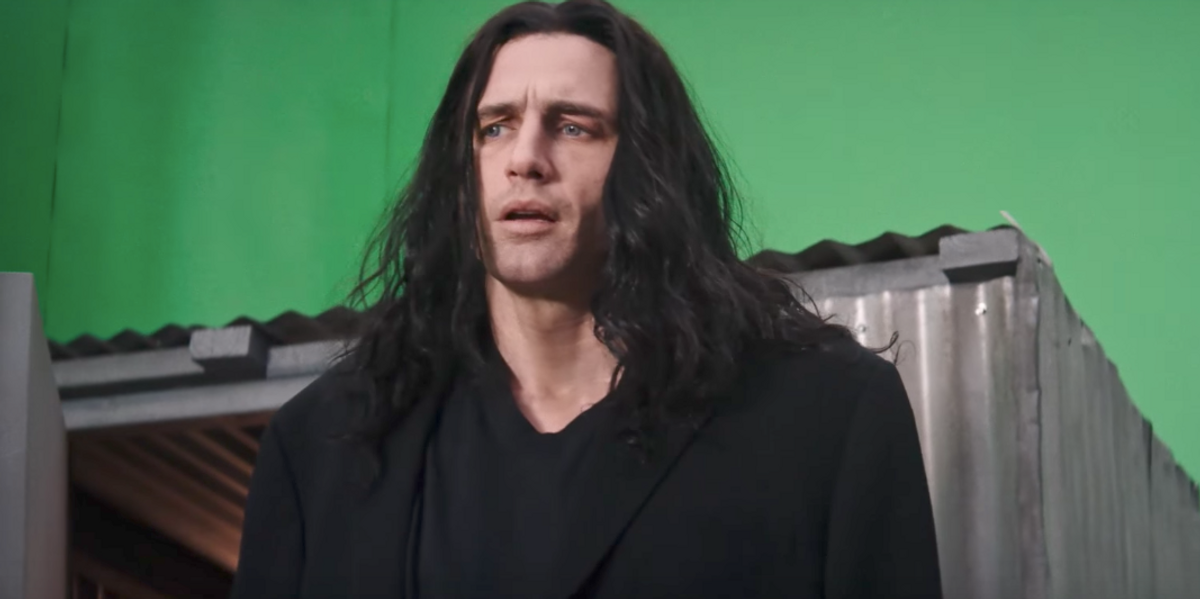 """Watch James Franco Transform into Tommy Wiseau for """"The Disaster Artist"""""""