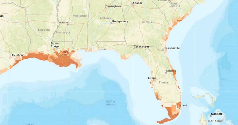 New Interactive Map Highlights Effects of Sea Level Rise