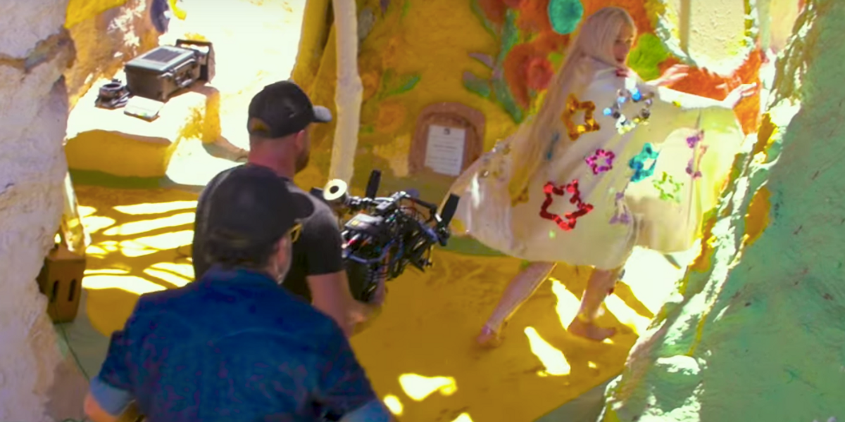 "Watch Kesha's Behind-The-Scenes Look at Her Triumphant ""Praying"" Video"