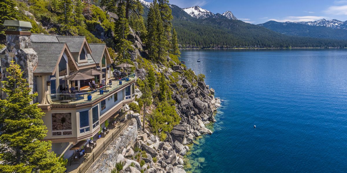 What $75 Million Buys in Lake Tahoe (Hint: Everything)