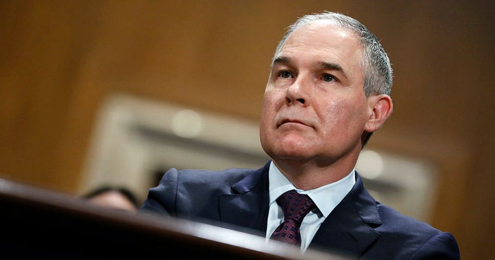 Records Show EPA Head Travels Home Excessively and on Taxpayers Dime