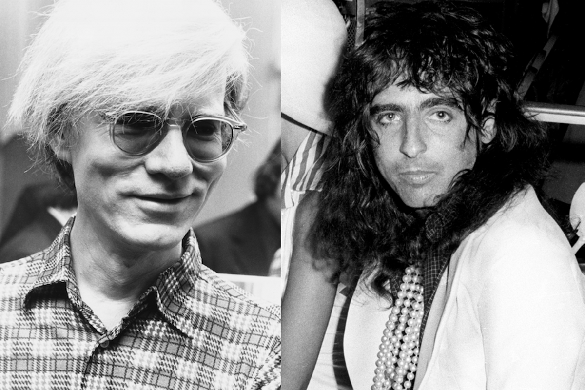Alice Cooper Finds Priceless Andy Warhol Silkscreen In His Storage Locker