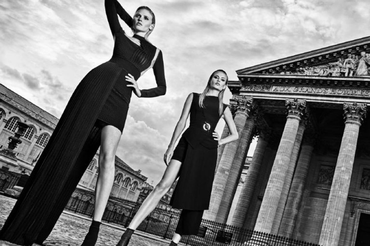 Olivier Rousteing Just Shot His First-Ever Campaign for Balmain