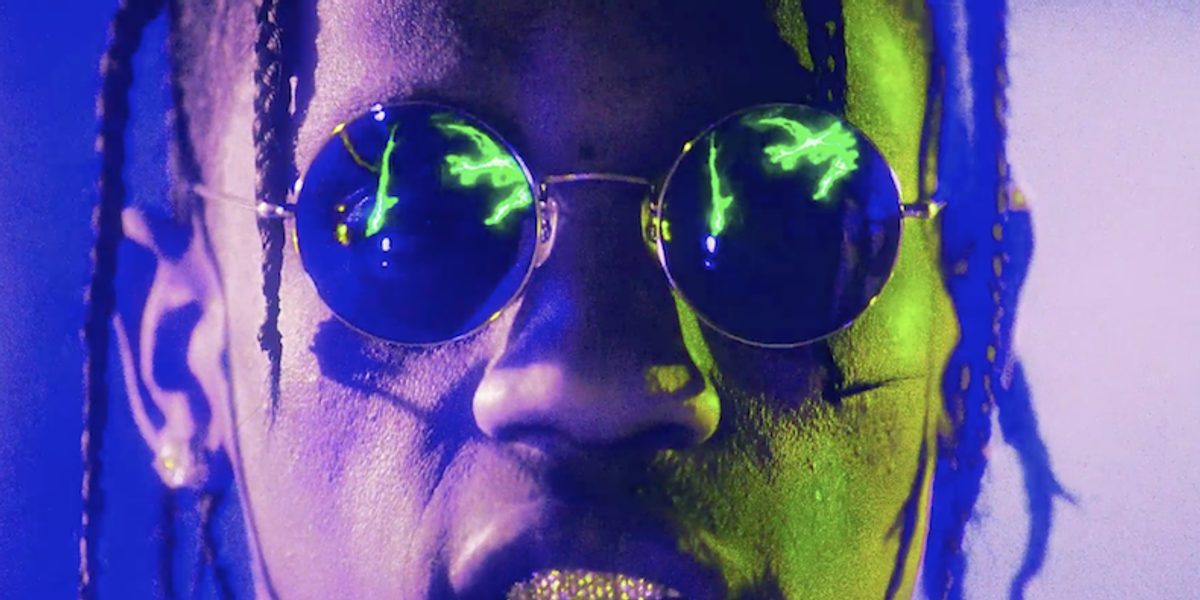 """Watch Travis Scott's New """"Butterfly Effect"""" Video and Step into a 15 Year-Old Boy's Fantasy"""