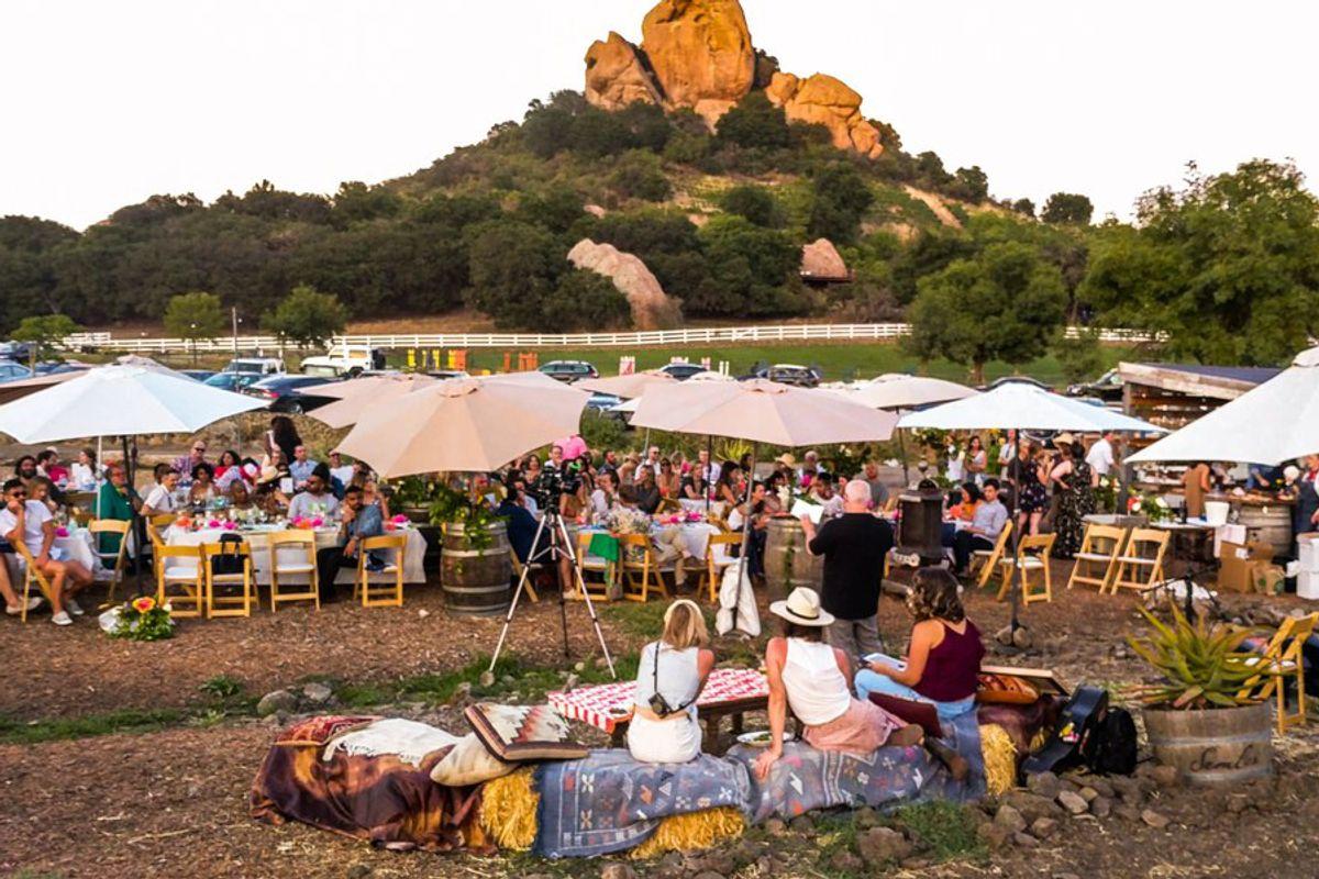 Highlights from The Sunset Dinner at Saddlerock Gardens Honoring Ron Finley