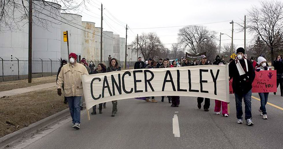 'Cancer Alley' Residents Sue DuPont