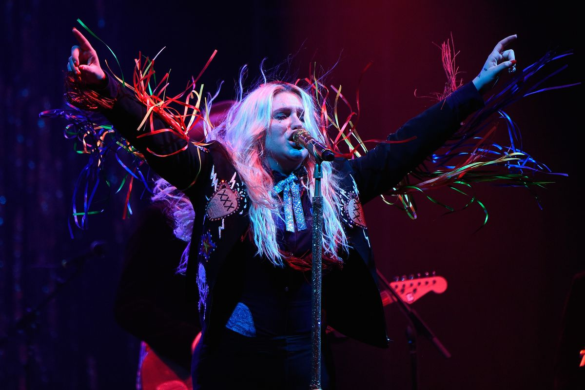 Kesha Announces Her First Solo Tour Since 2013