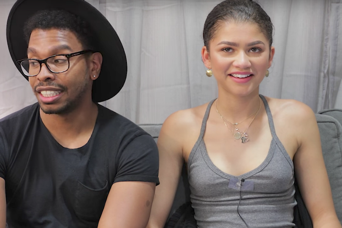 Zendaya Cringing at Her Old YouTube Videos is Quite Literally All of Us