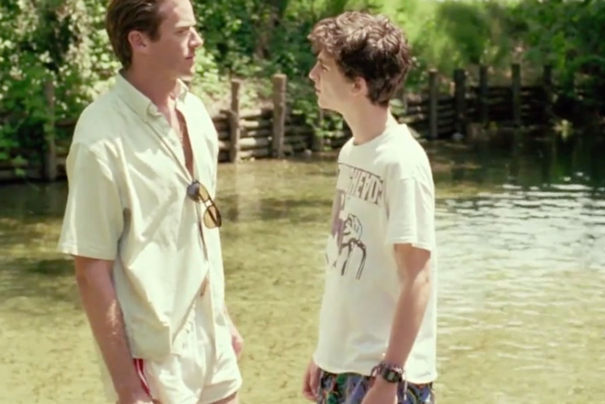 "Watch the Electrifying First Trailer for ""Call Me By Your Name"""