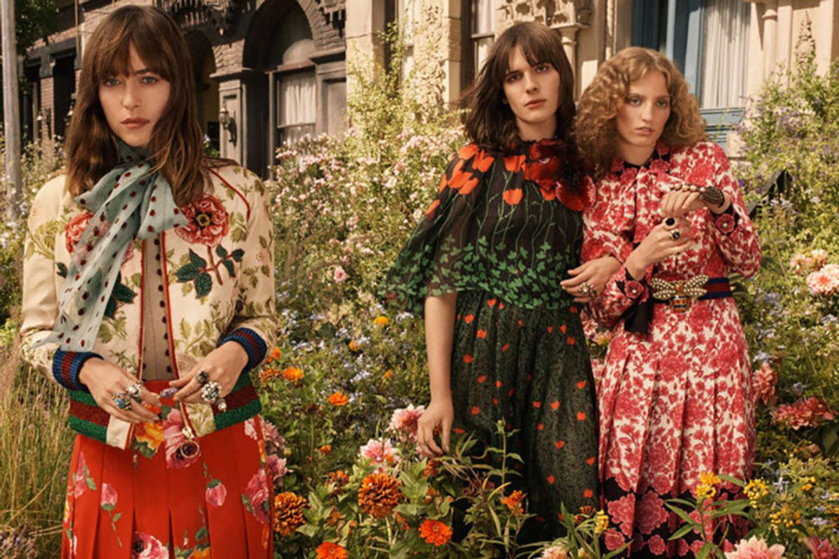 Gucci Tapped Hari Nef, Dakota Johnson, and Petra Collins for New Campaign and it's Just Magical