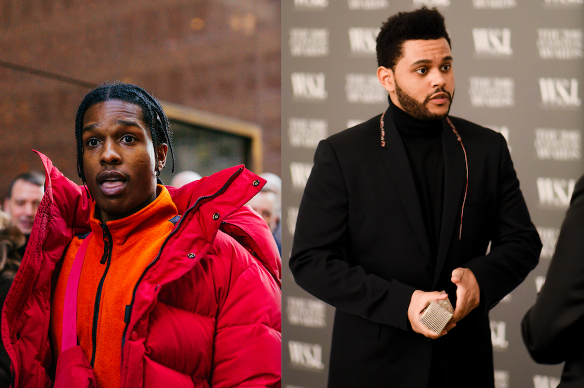 The Weeknd Teamed Up With A$AP Rocky and Young Thug for 'Reminder' Remix