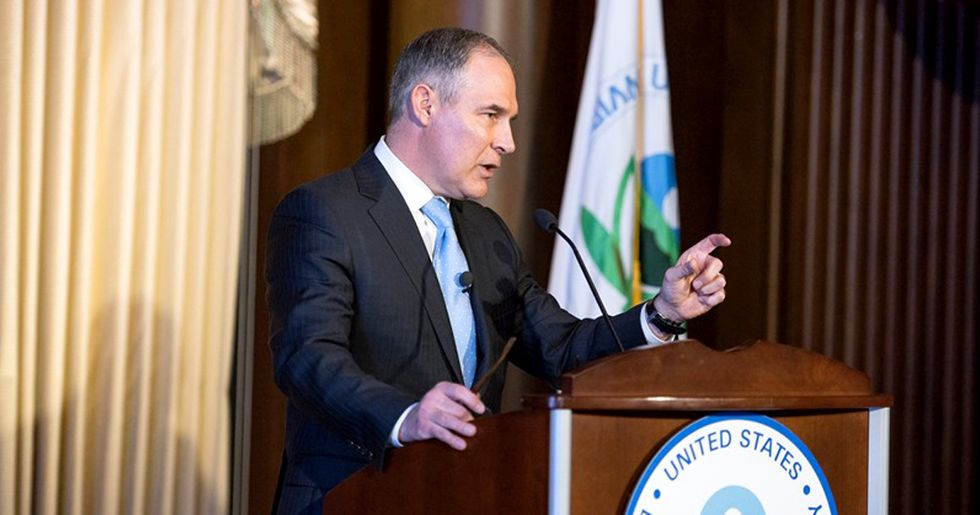 Pruitt's Attack on Science Continues to Undermine Integrity at EPA