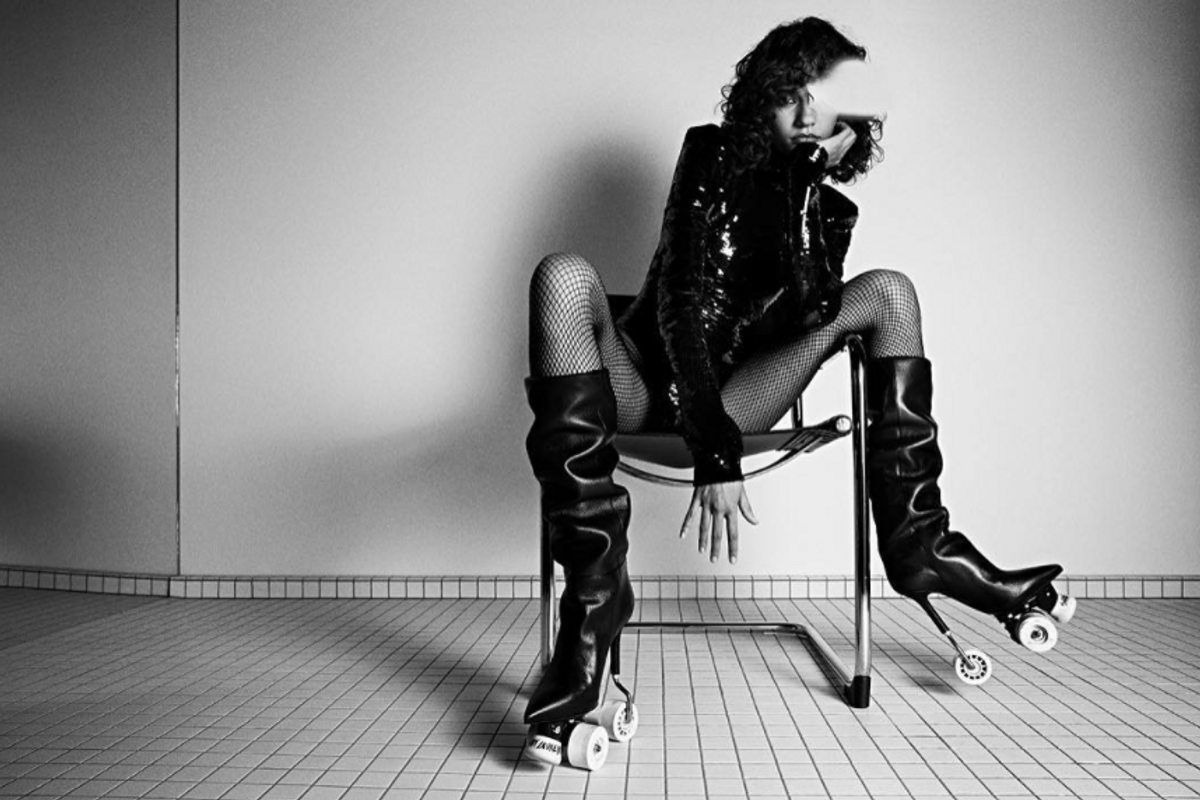 Break Your Neck (But Make It Fashion) In These Saint Laurent Stiletto Rollerskates