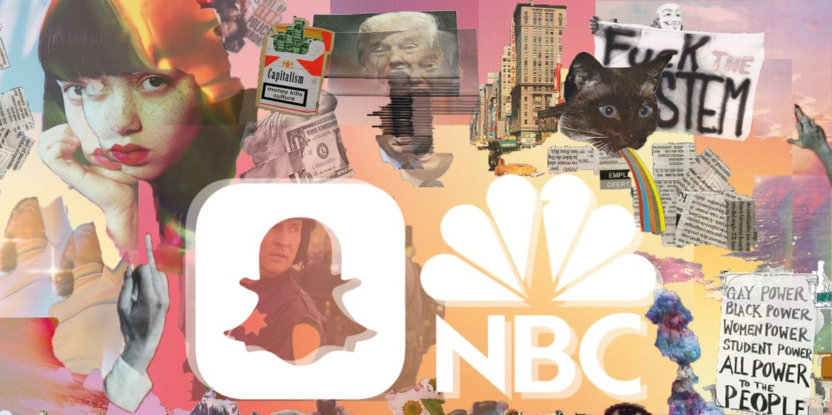 Snapchat Partners with NBC to Bring Daily News to the Youth