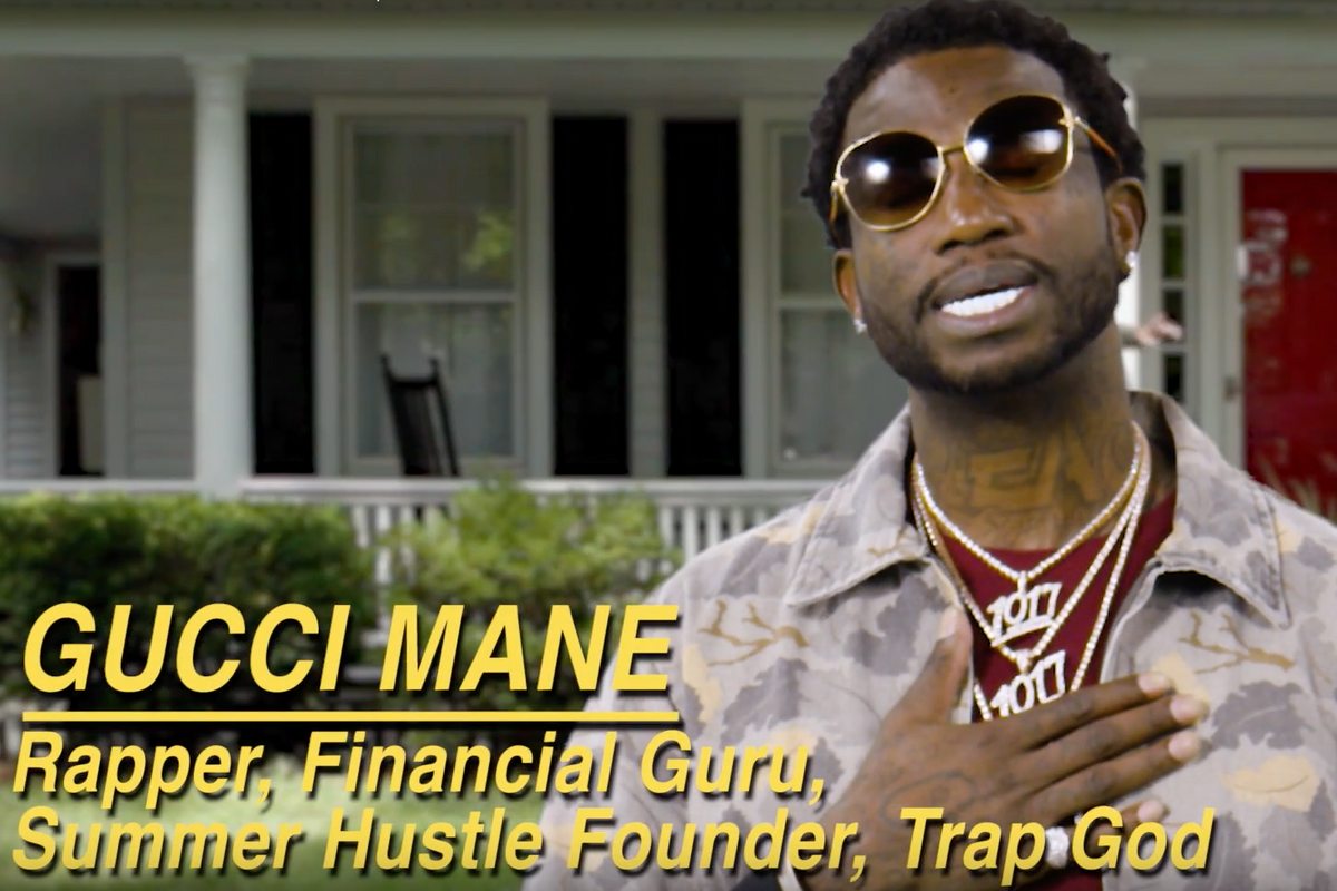 Watch Gucci Mane Dispense Alliterative Advice in This Strange Shoe Spot