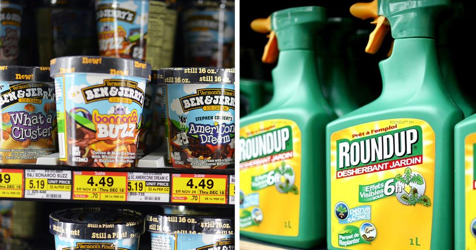Glyphosate in Ben & Jerry's Ice Cream + 'Monsanto Papers' = Very Interesting Times