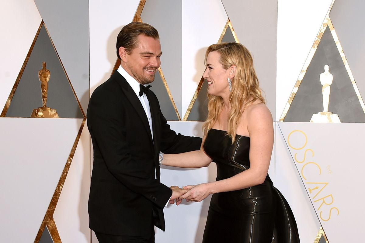 Leonardo DiCaprio and Kate Winslet Want You to Buy a Date with Them