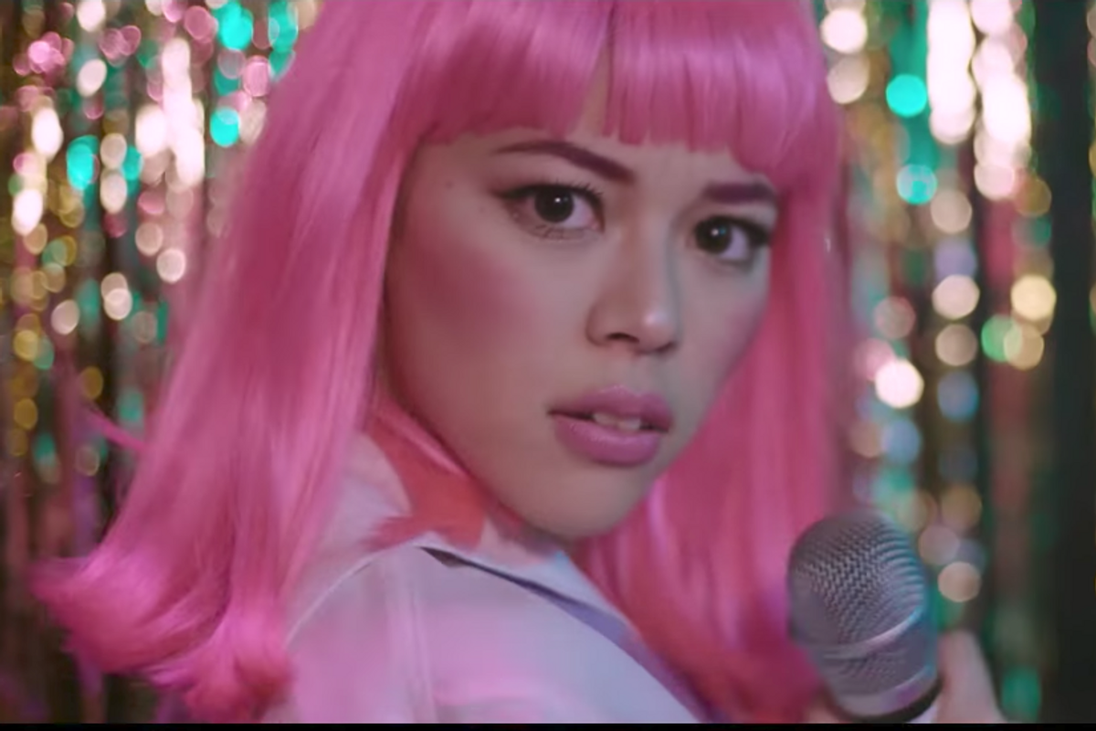 "It's Karaoke Time In The Video For For Sweater Beats And Hayley Kiyoko's ""Glory Days"""