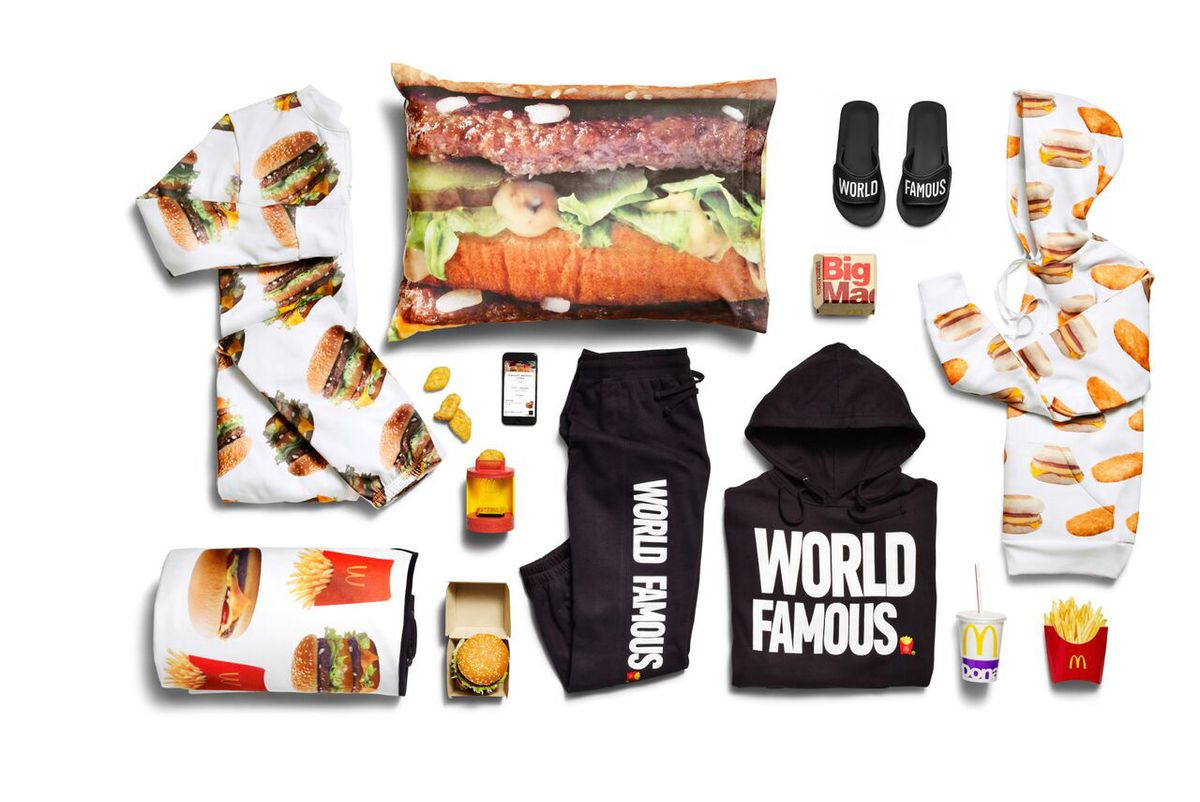 The Hottest New Swag Collab Is... McDonald's?