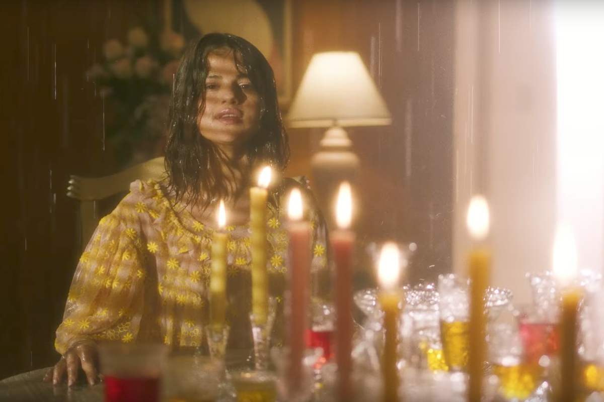 """Selena Gomez Has a """"Fetish"""" for Destroying Things In New Petra Collins-Directed Video"""
