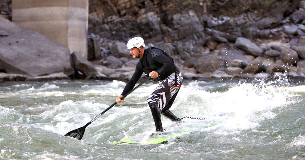 Standup Paddleboarding on Montana's Blackfoot River