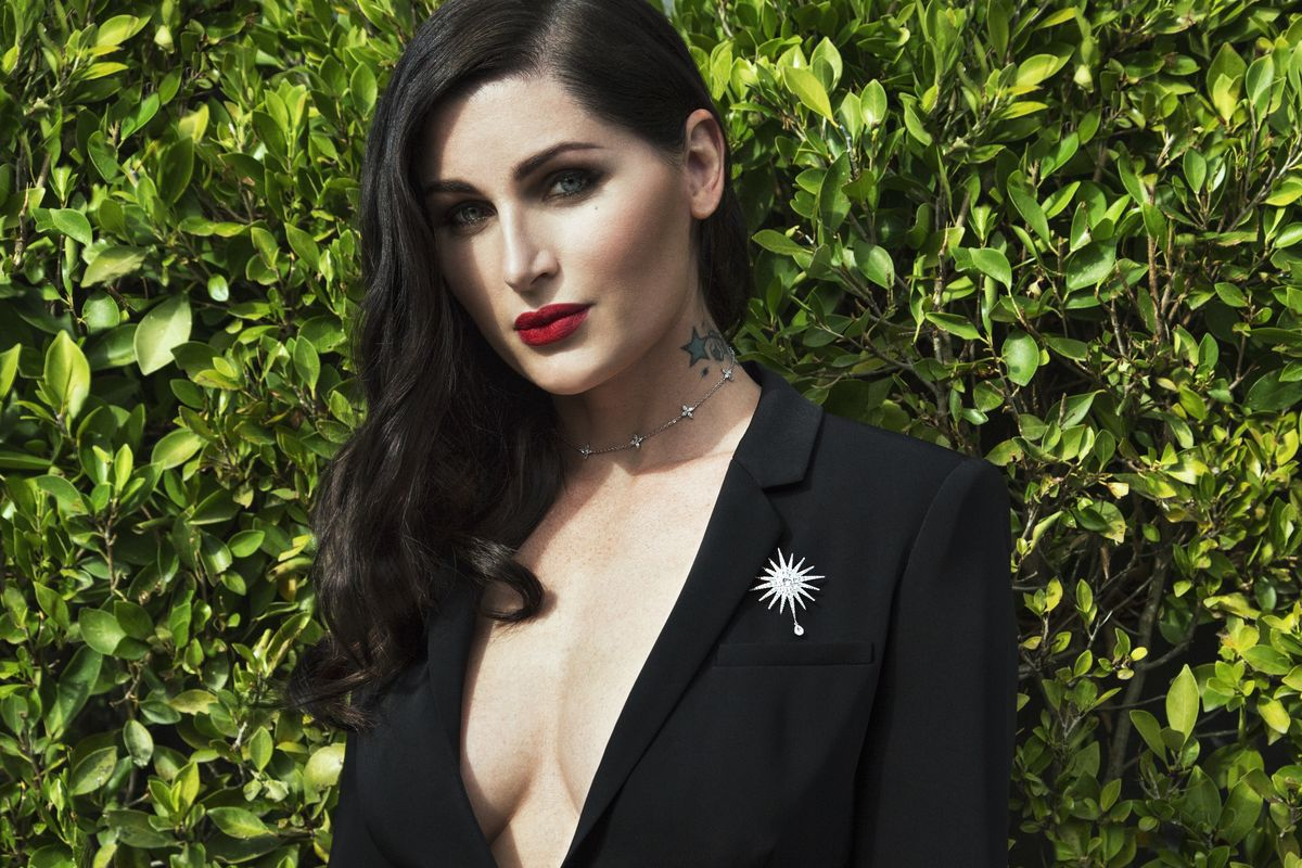 Trace Lysette Is Ready for Her Close-Up