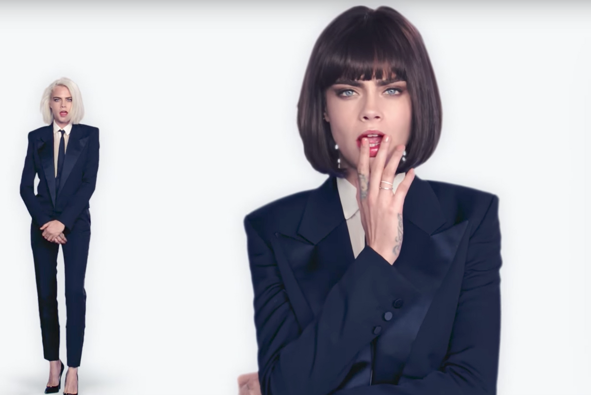 """Cara Delevingne's Video for Her First Single """"I Feel Everything"""" Is Certainly Something"""