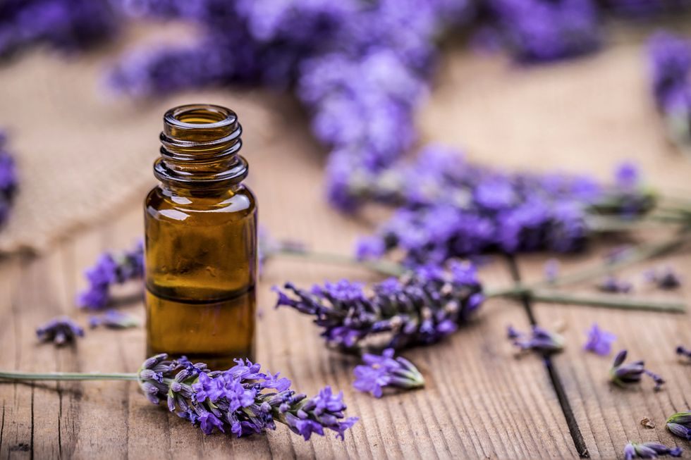 1 Pound of Essential Oil = 250 Pounds of Lavender