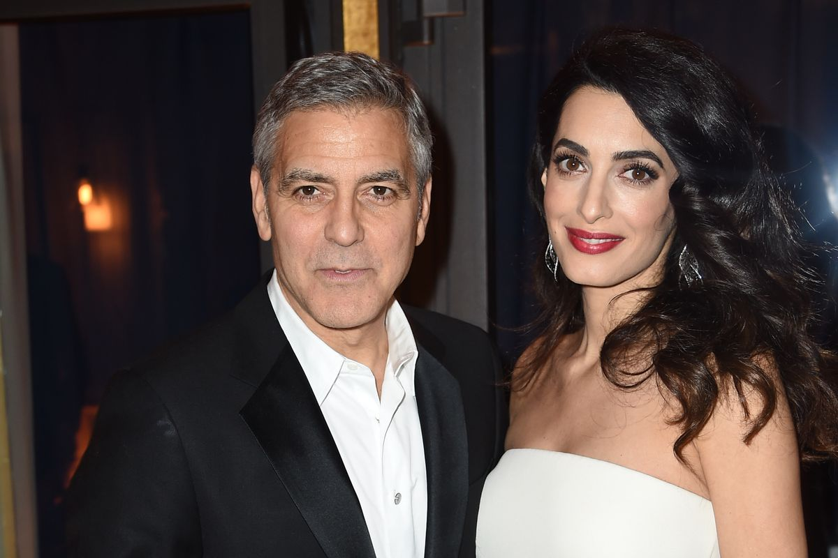 """George Clooney Plans to Prosecute the Paparazzi Who """"Scaled"""" Fences Around His Home for Twin Photos"""