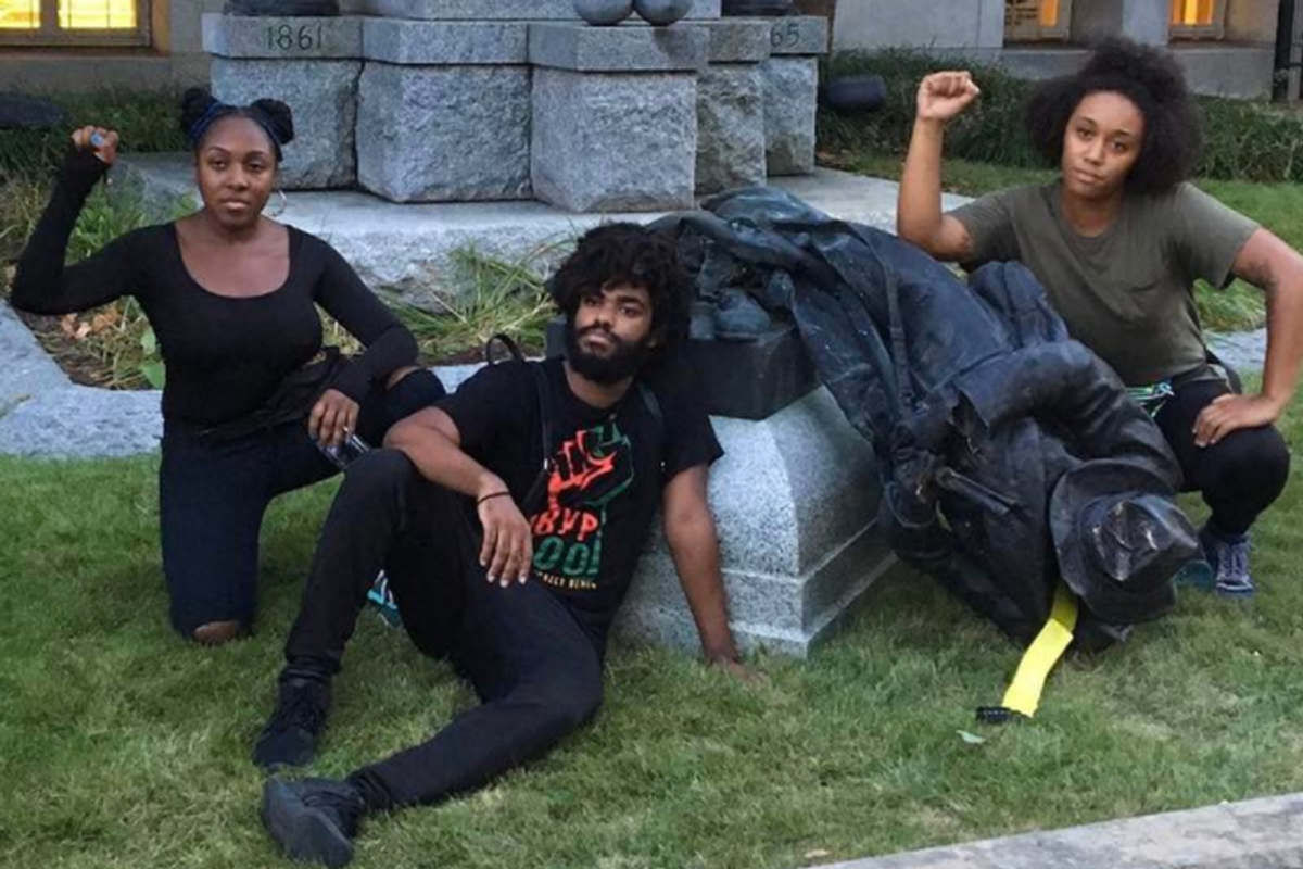 Durham Activists Who Toppled Confederate Statue are Turning Themselves in for Arrest