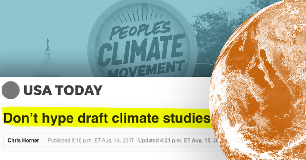 Why Does USA Today Keep Publishing Op-Eds That Dispute Climate Science?