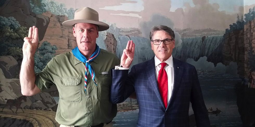 Zinke Goes on Mediterranean Vacation Instead of Visiting National Monuments on Chopping Block