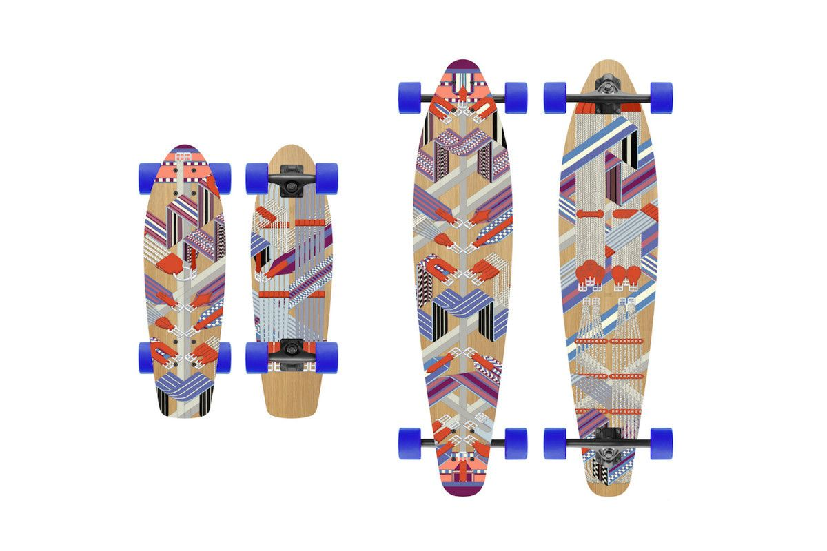 Hermès Skateboards Are Now Apparently a Thing