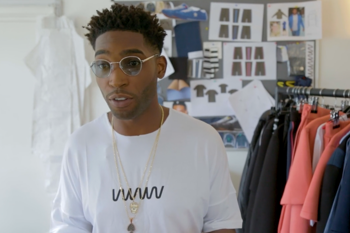 Tinie Tempah Talks About His Clothing Line in New Cutler and Gross 'Visionaires' Video