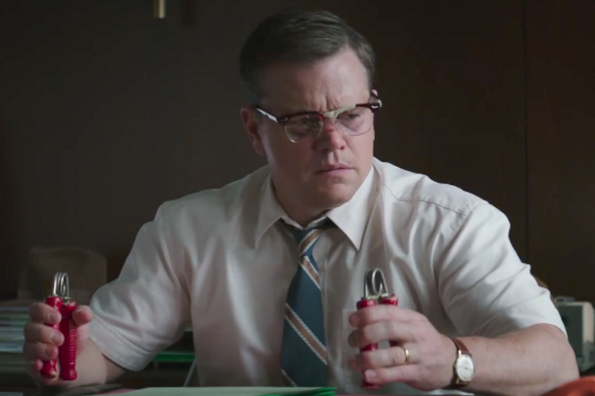 "Watch the Latest Totally Surreal Trailer for George Clooney's ""Suburbicon"" with Matt Damon and Julianne Moore"