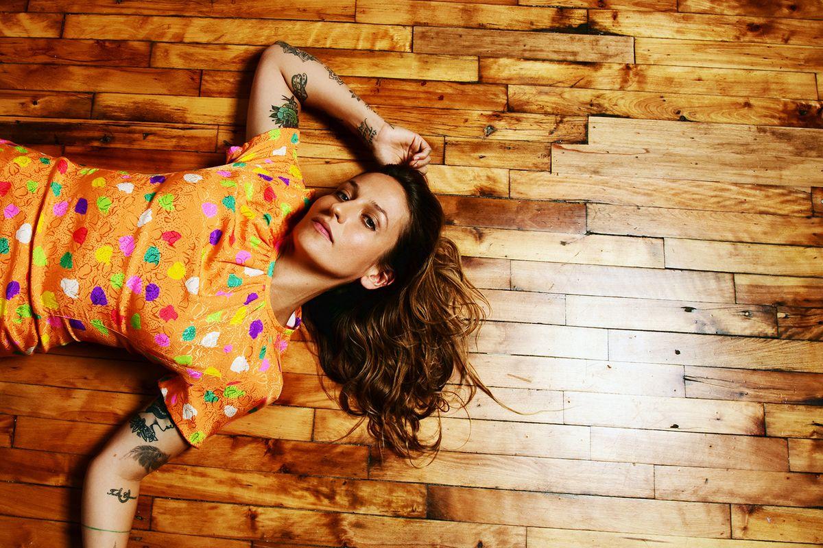 "PREMIERE: Watch Domino Kirke's Powerful New Video ""Half-Blood"" Co-Starring Husband Penn Badgley"