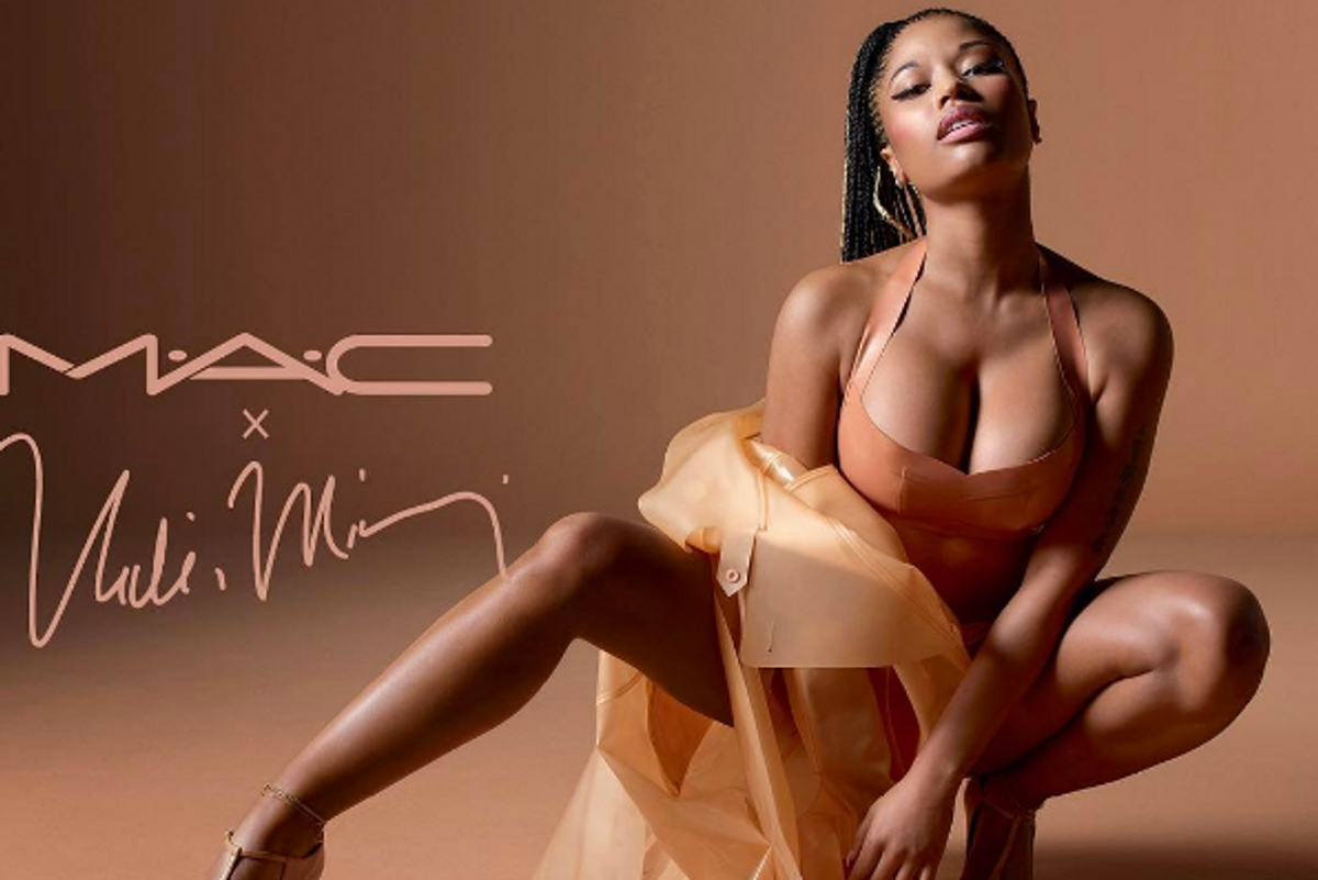 Nicki Minaj's New Nude Line for M.A.C Will Make You Want to Strip Down