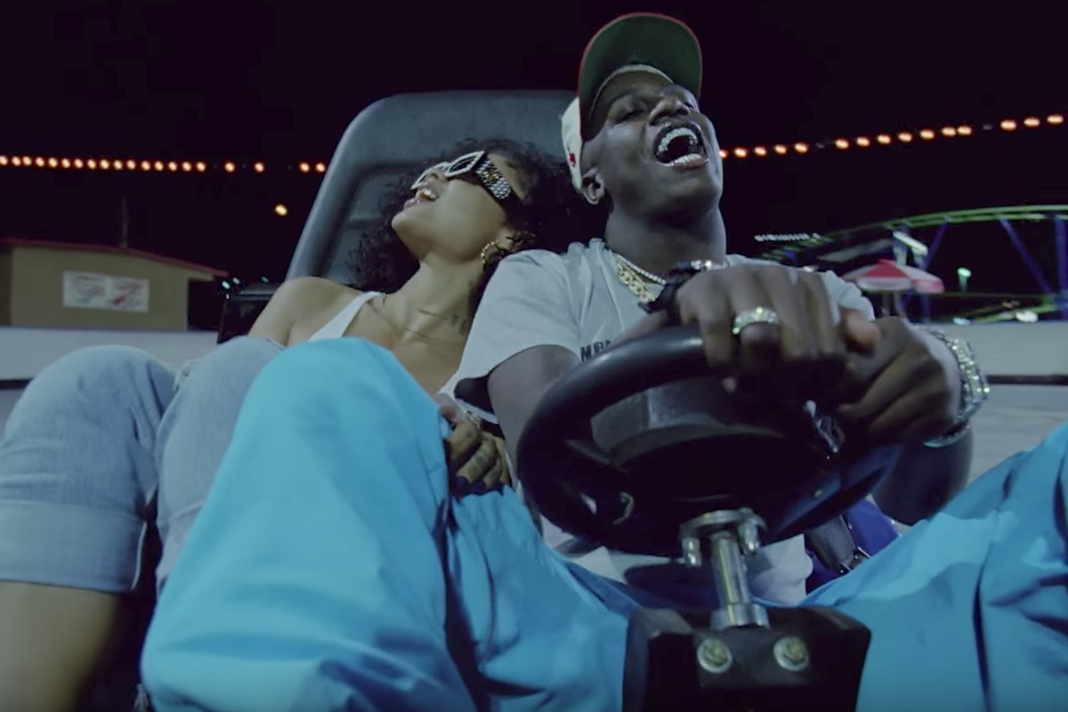 """Watch Lil Yachty Hit the Amusement Park for New """"Forever Young"""" Video"""