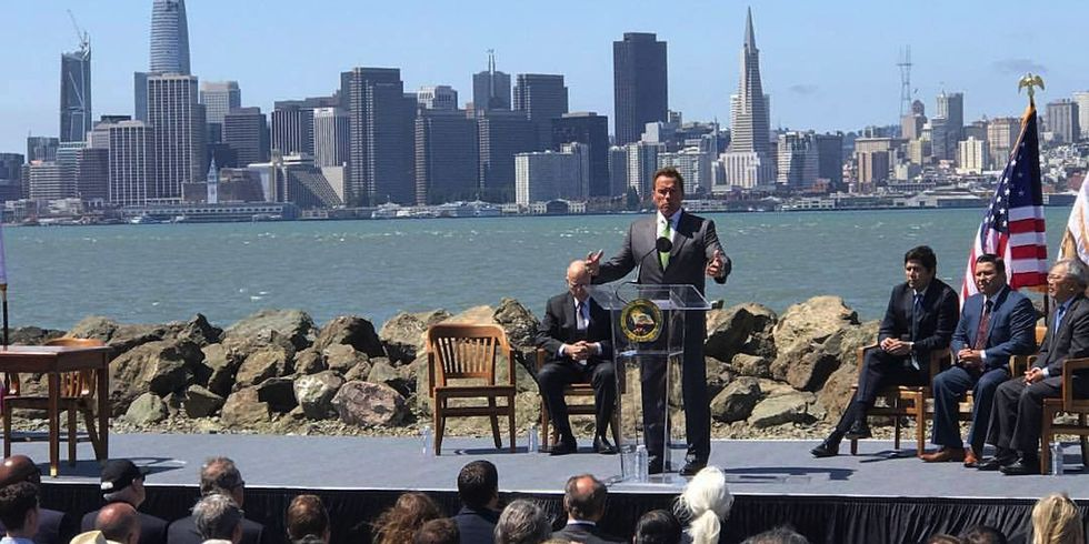 Schwarzenegger Unveils Legislative 'Blueprint' to Challenge Trump on Climate