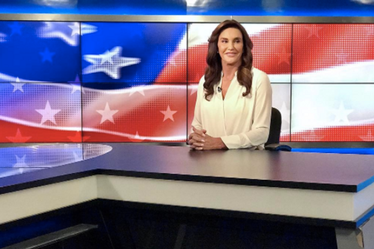 Twitter Reacts to Caitlyn Jenner Wearing a MAGA Hat Days After Decrying Military Ban