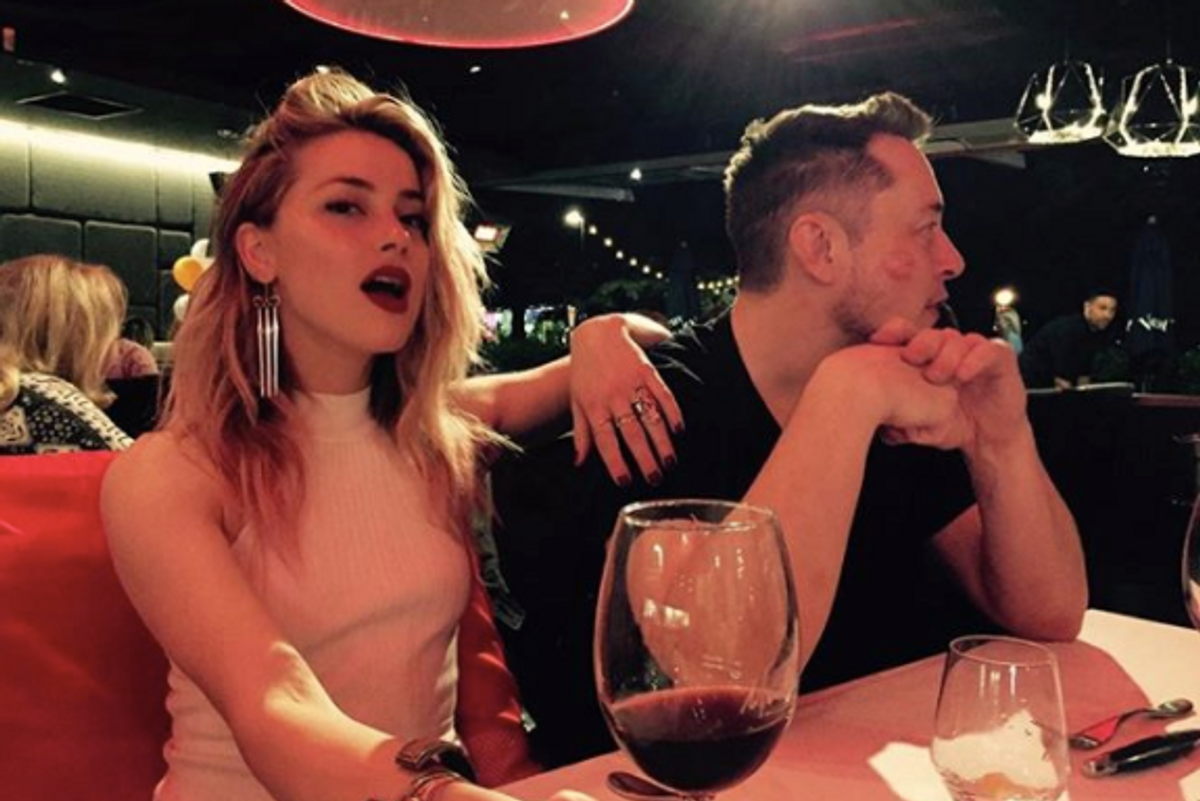 Elon Musk and Amber Heard Broke Up This Weekend