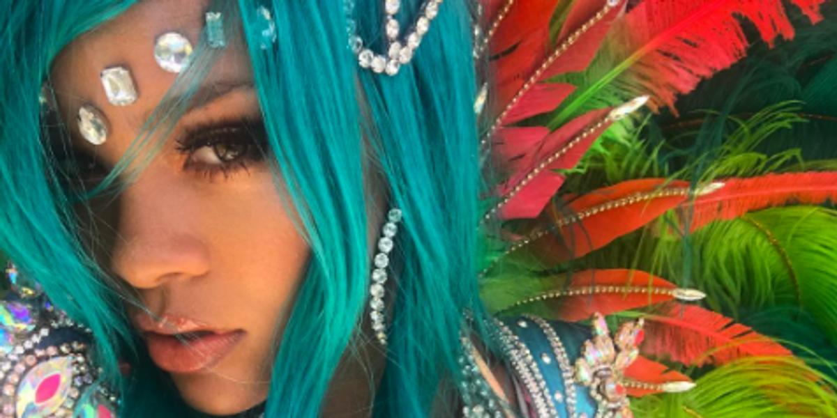 Brace Yourselves, Rihanna Is Serving Lewks in Barbados for Crop Over