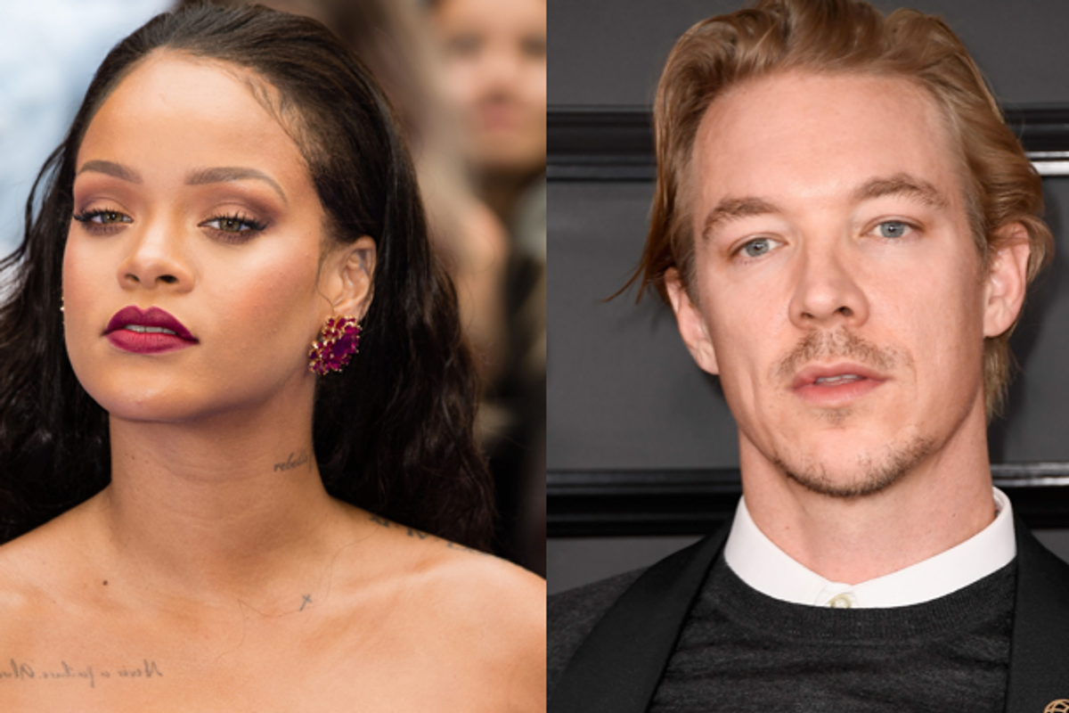 "Rihanna Told Diplo His Music Reminded Her of a ""Reggae Song at an Airport"""