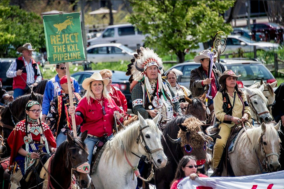150+ Tribes Opposing Keystone XL Promise to Stop It in Its Tracks