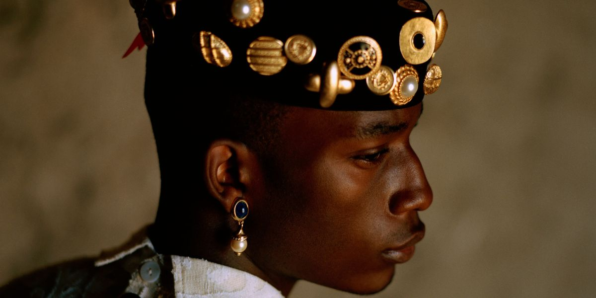 PREMIERE: Kenneth Nicholson's Lookbook for 'The Romantics and The Rebels' Is an Ode to African Regality