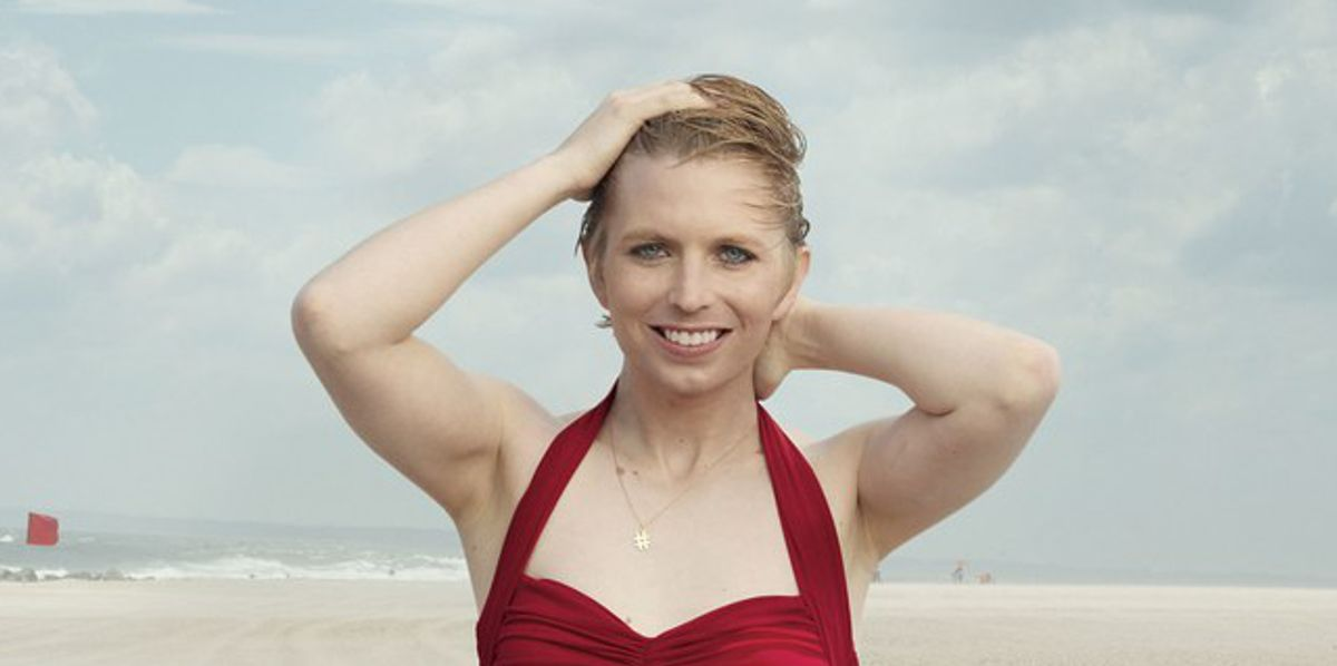 Chelsea Manning Slays In A Norma Kamali Swimsuit For Vogue's September Issue